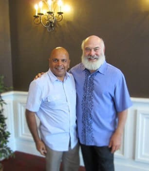 Dr. Uday Jani with Dr. Andrew Weil, renowned founder of Integrative Medicine.