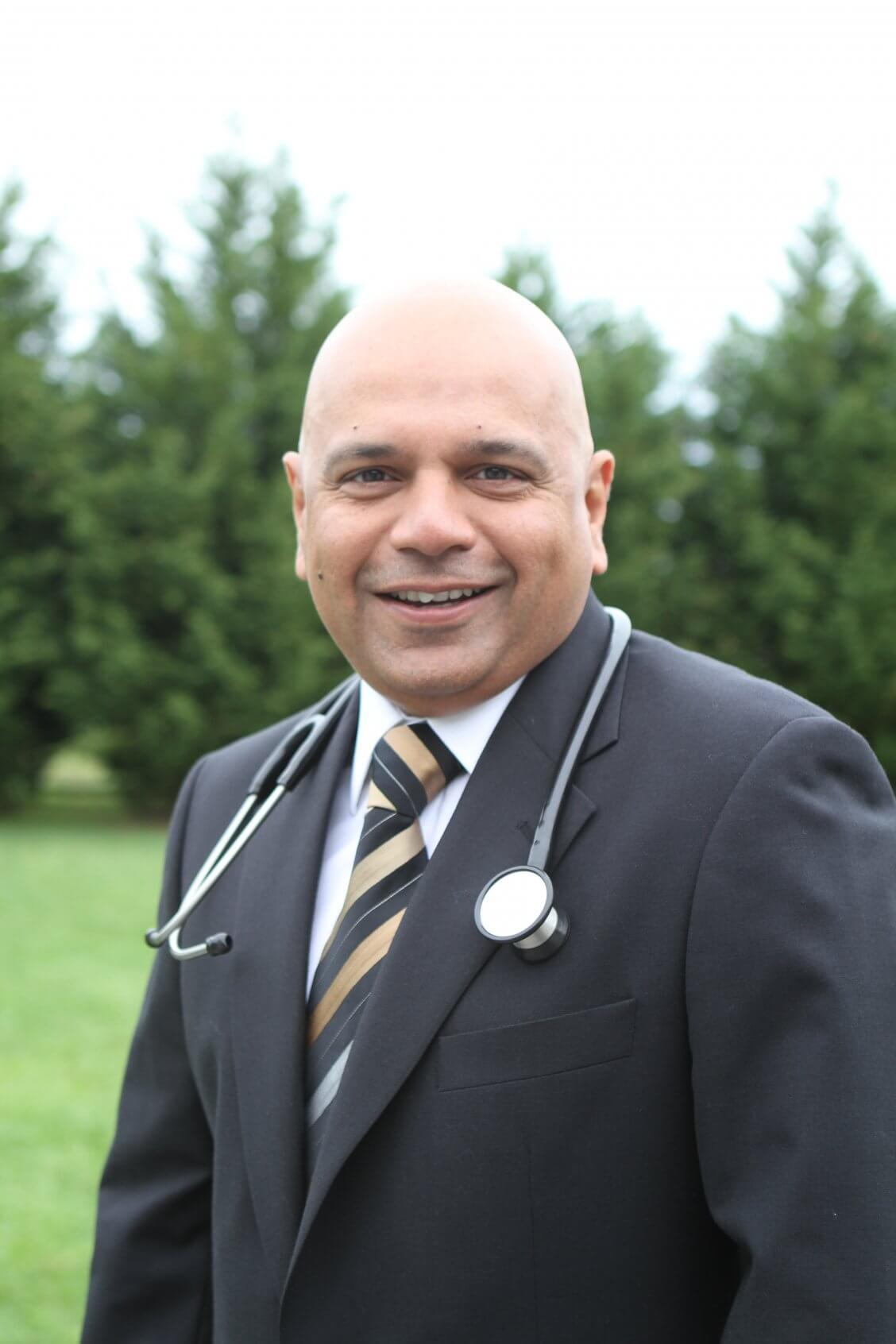 Dr. Uday Jani in the Cape Gazette