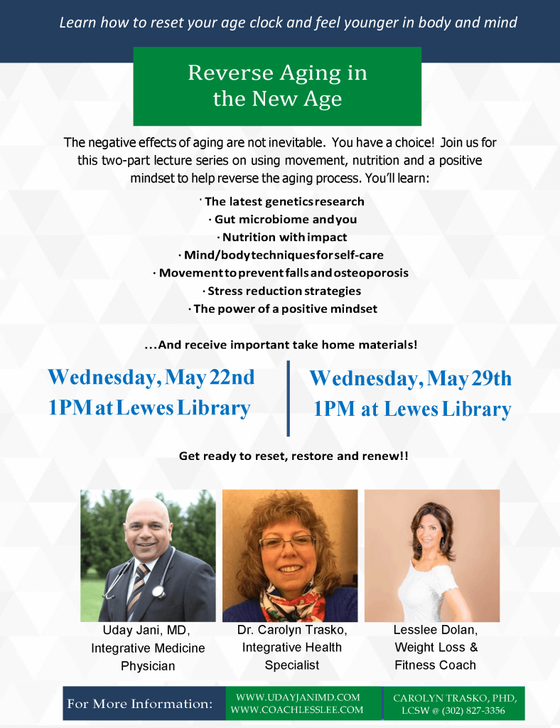 Join Us on May 22nd & May 29th! [Reverse Aging Talk]